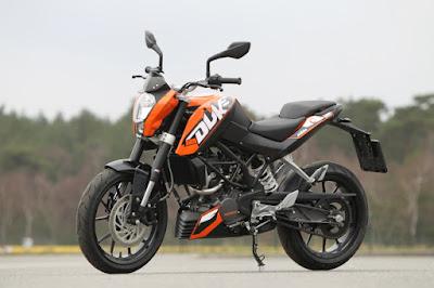 New 2016 KTM Duke 125 image
