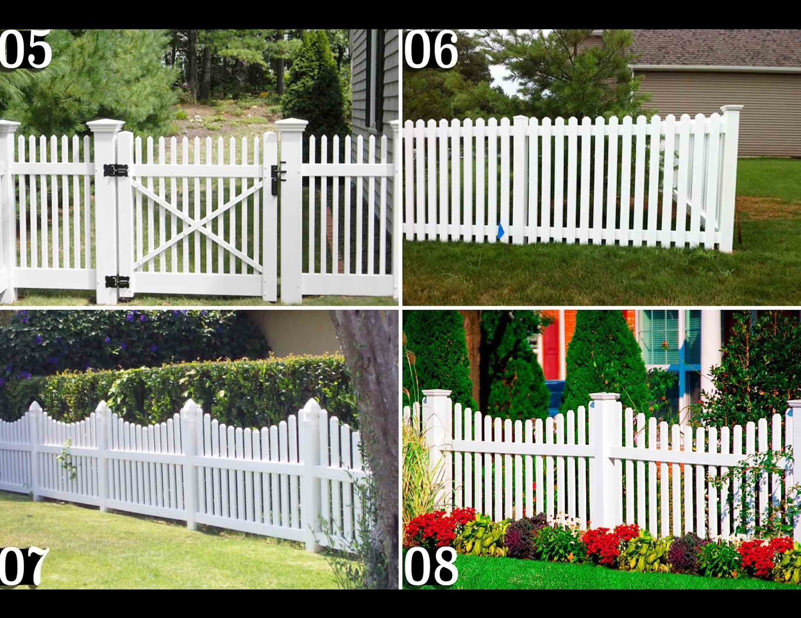 Manufacturer & Supplier Wooden Privacy Fences Garden Fences and
