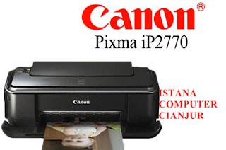 Printer Canon IP2770 Lampu Orange Berkedip