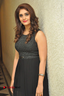 Actress Surabhi Stills in Black Long Dress at turodu Audio Launch  0016.JPG