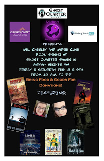 """BookSigningPoster - Book Release: """"Blood of My Sisters"""" by Mel Chesley"""