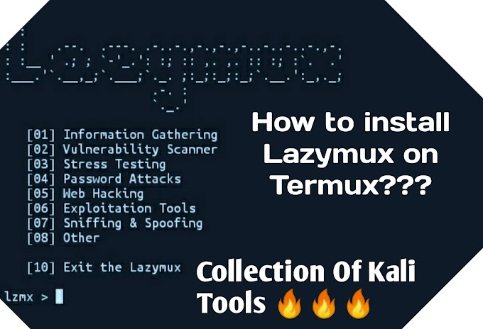 How to install Lazymux in Termux???