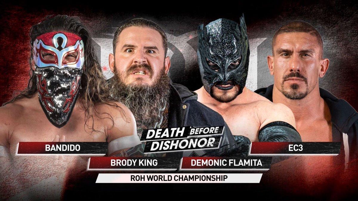 Cobertura: ROH Death Before Dishonor 2021 – Quem é o próximo?