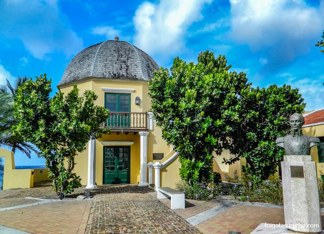 Ocatgon, casa de Simón Bolívar em Willemstad, Curaçao