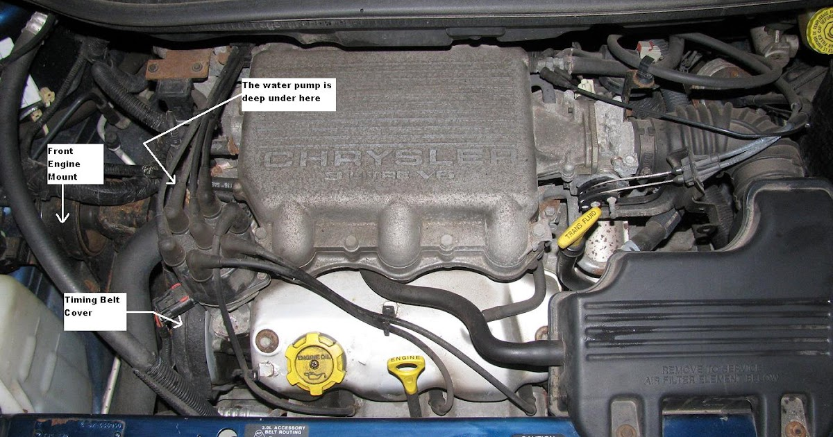 The Original Mechanic: 30L Dodge Chrysler Plymouth Engine Removing Front Cylinder Head