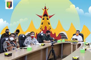 Pemerintah Provinsi Lampung ikuti  Rapat Koordinasi Evaluasi PPKM yang dipimpin  Menko Perekonomian