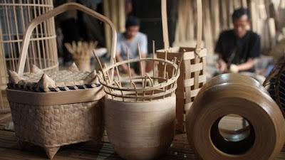 Industri Kerajinan Bambu Garut