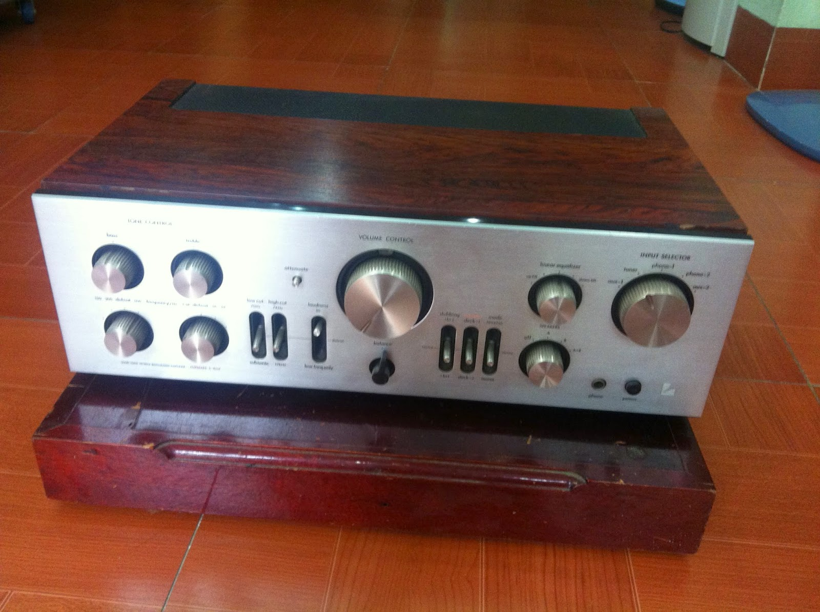Amply Luxman - L85V, made in Japan