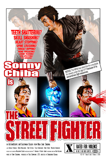 The Street Fighter, film di pubblico dominio, cc0