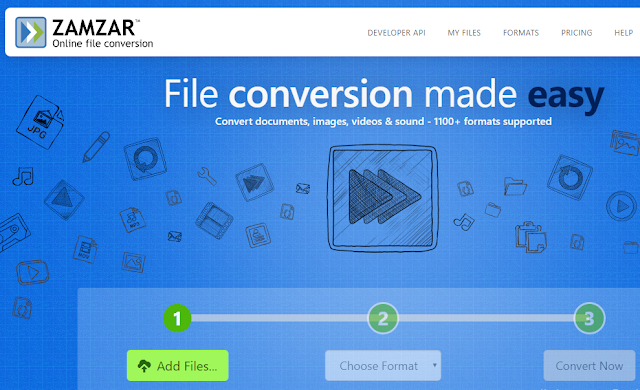 web based service to convert files