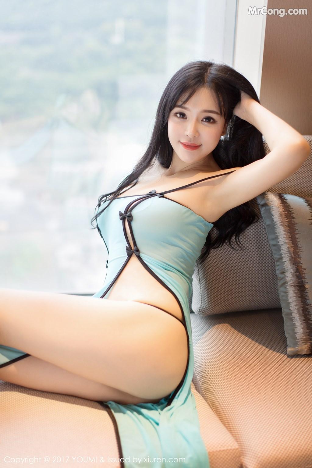 Image YouMi-No.067-Liu-Yu-Er-MrCong.com-039 in post YouMi No.067: Người mẫu Liu Yu Er (刘钰儿) (45 ảnh)