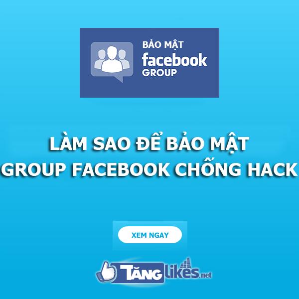 bao mat group facebook
