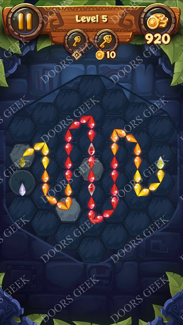 Gems & Magic [Tourmaline] Level 5 Solution, Walkthrough, Cheats