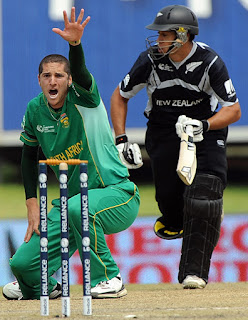 Wayne Parnell 5-57 - South Africa vs New Zealand 3rd Match ICC CT 2009 Highlights