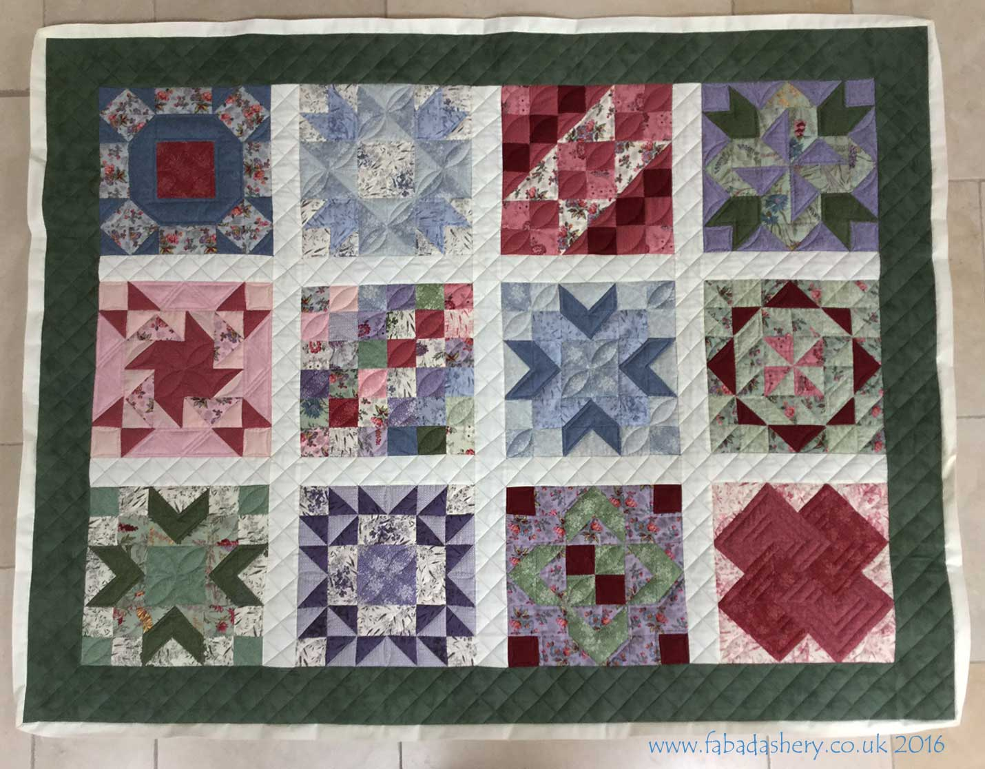 Fabadashery Longarm Quilting: Jelly Roll Sampler Quilt - Long Arm ... : long arm quilting uk - Adamdwight.com