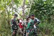 Zidam Ukur Batas-Batas Aset Tanah TNI AD dengan BPN Singkawang