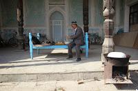 Uzbekistan, Andijan, Babur Literary Museum, topchan, © L. Gigout, 2012