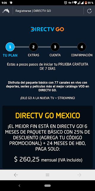 directv go premium gratis