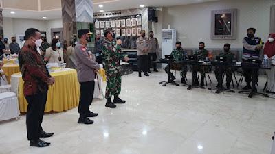 Panglima TNI dan Kapolri Cek Tracker Covid-19, Kunker ke Makassar