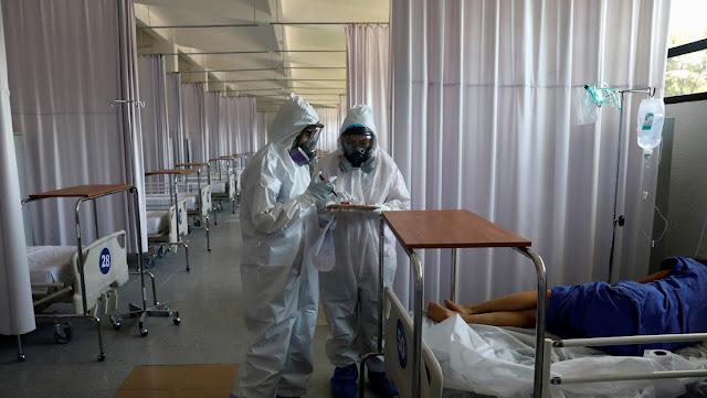 México confirma 5.343 nuevos casos y 1.044 muertes por coronavirus en un día