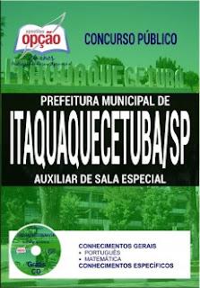 Apostila concurso Prefeitura de Itaquaquecetuba (SP)
