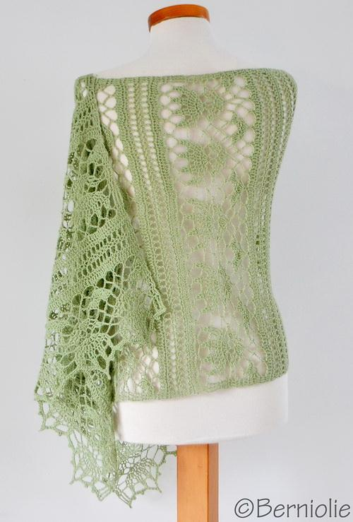 Crochet Shawl, wrap,  pattern is available
