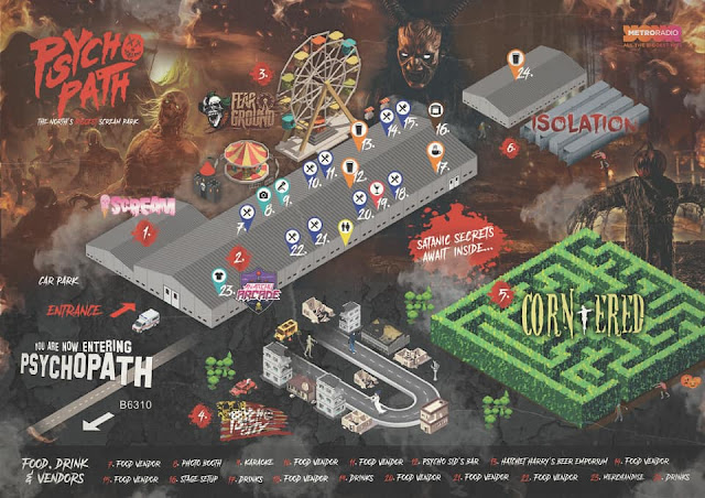 North East Halloween Events 2021  - Psycho Path