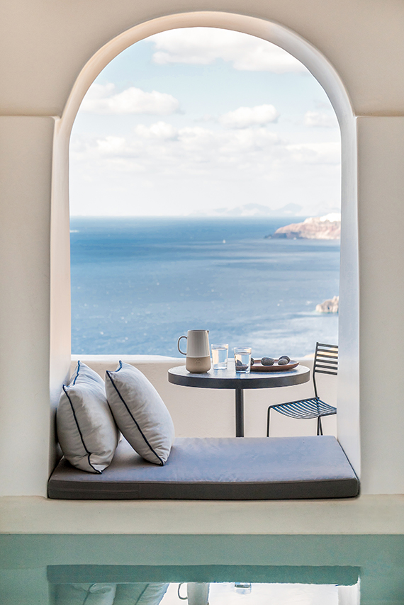 Porto Fira Suites In Santorini By Interior Design Laboratorium