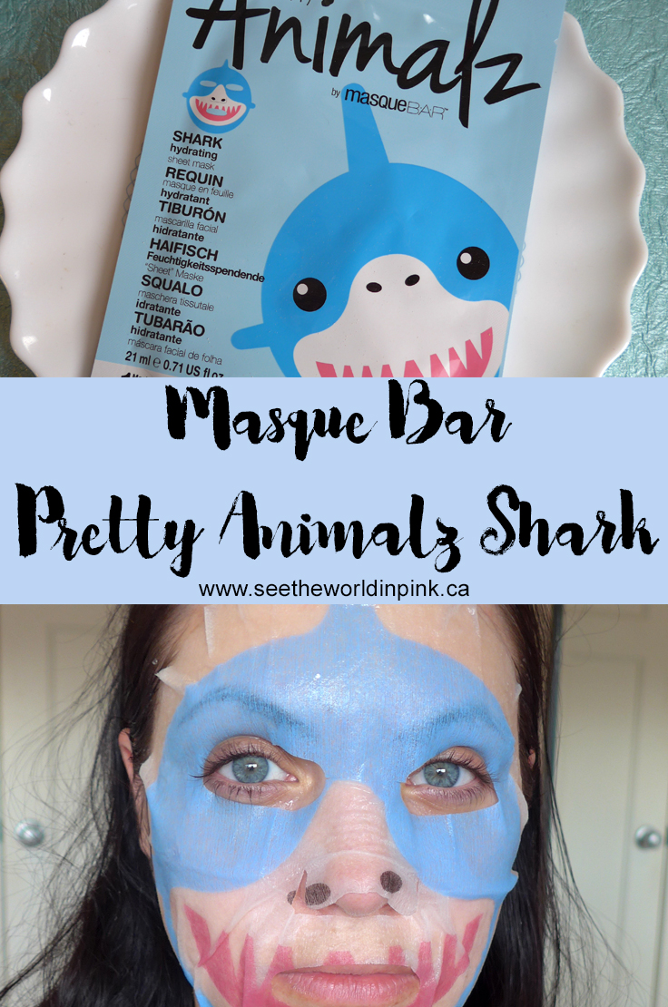 Masque Bar Pretty Animalz Shark Mask