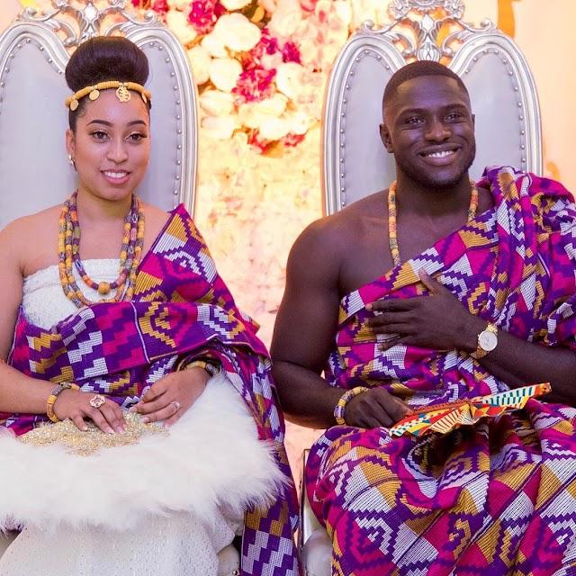 Photo Speaks: Sharon Oyakhilome Weds Phillip Frimpong Marriage Ceremony.