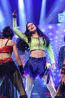 Sunny Leone Dancing on stage At Rogue Movie Audio Music Launch ~  314.JPG