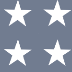 star white blue