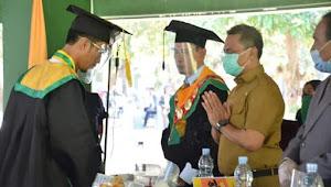 Wakil Wali Kota Hadiri Wisuda STISIP Mbojo Bima