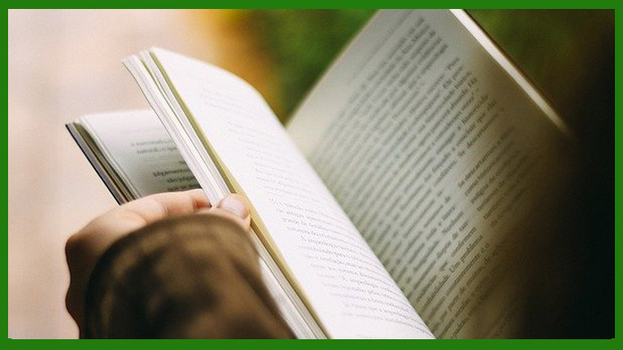 Blogger Membaca Buku Untuk Menulis Artikel
