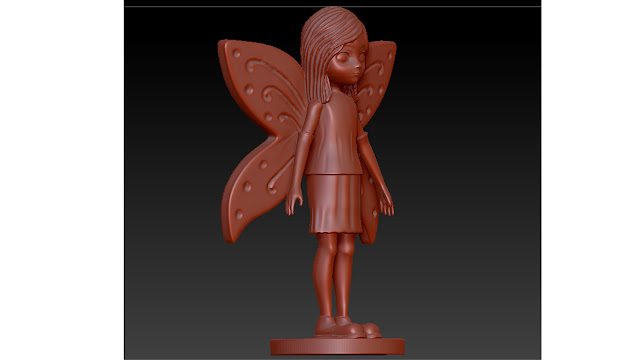 fairy 3d model free download