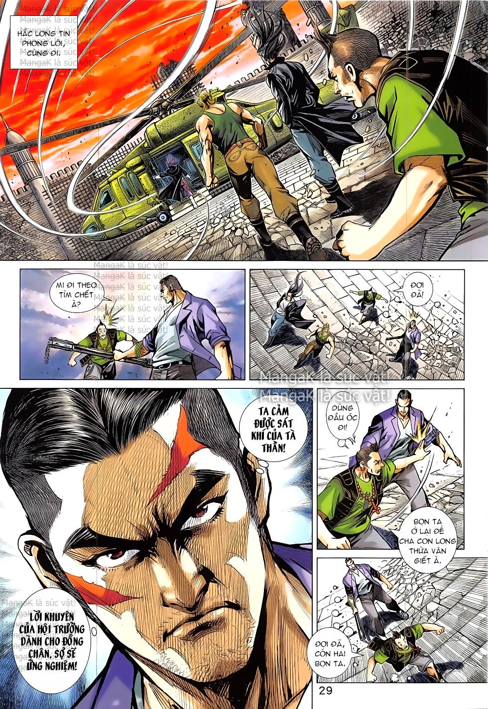 Tân Tác Long Hổ Môn Chap 824 page 29 - Truyentranhaz.net