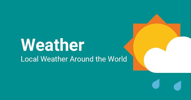 देश भर के प्रमुख शहरों की मौसम की स्थिति