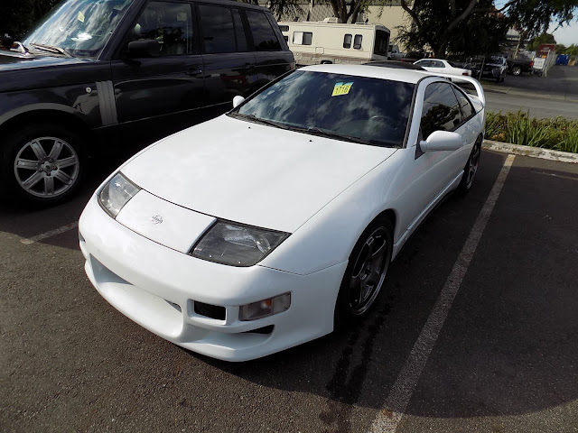 1993 Nissan 300ZX Turbo at Almost Everything Auto Body after we repaired and repainted the whole car and replaced teh rear bumper.