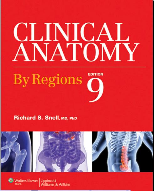 تحميل كتاب snell anatomy pdf