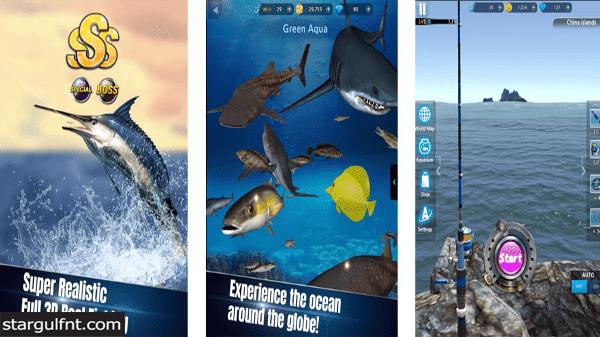 تحميل لعبة Monster Fishing 2021 للأيفون والأندرويد APK رابط مباشر