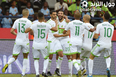 مواجهة الجزائر امام زامبيا في تصفيات كأس امم افريقيا