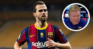 Koeman names key areas Pjanic has to improve after taking Miralem off at half time vs Elche