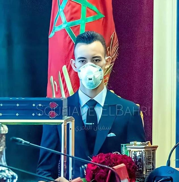 """عاجل...الأمير """"مولاي الحسن"""" ينجح في اختبارات الباكلوريا بميزة مشرفة"""