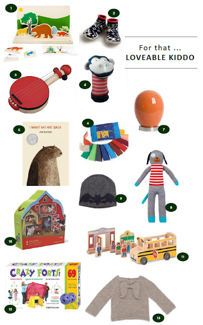 Holiday gift ideas for toddlers