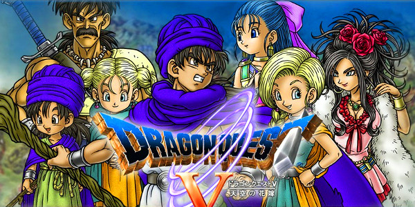 Dragon Quest V Personagens