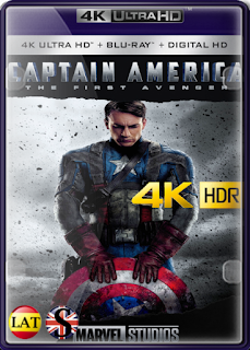 Capitán América: El Primer Vengador (2011) REMUX 4K UHD HDR LATINO/INGLES