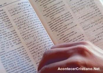 Biblia en árabe para cristianos en Siria
