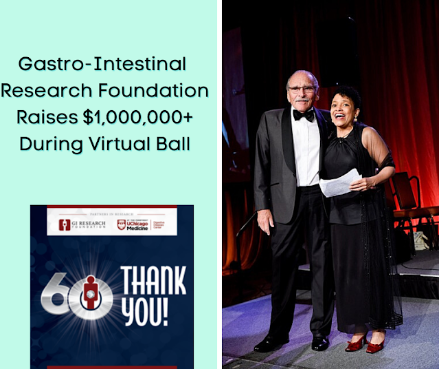 Gastro-Intestinal Research Foundation Celebrates 60 Years and Raises Vital Funds During Annual Ball