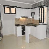 kitchen set minimalis Ellysium - lippo cikarang