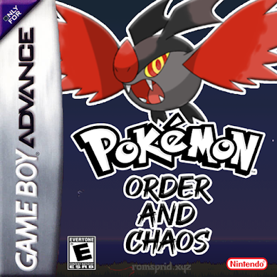 Pokemon Order and Chaos GBA ROM Hack Download
